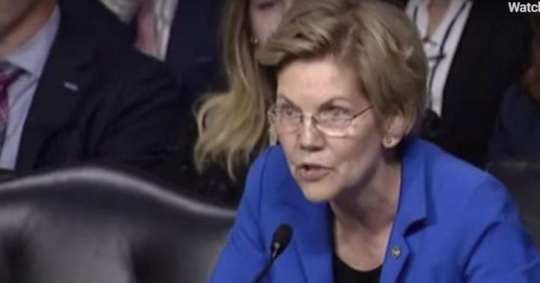 Watch: Liz Warren Throws a Tantrum at Senate Hearing After Not Getting Her Way