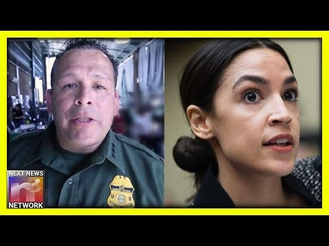 BUSTED: Border Patrol Releases Video Showing How AOC LIED To Americans