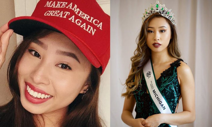 Miss Michigan Supports Trump, Refuses to Try on Hijab, GETS STRIPPED OF HER TITLE