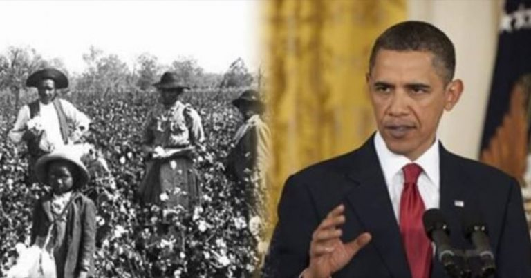 BOOM! Obama's Family Owned SLAVES…