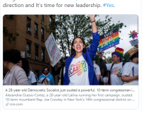 WARNING: Republican Scherie Murray, One of AOC's Challengers, Voted for OBAMA TWICE and Congratulated AOC Last Year