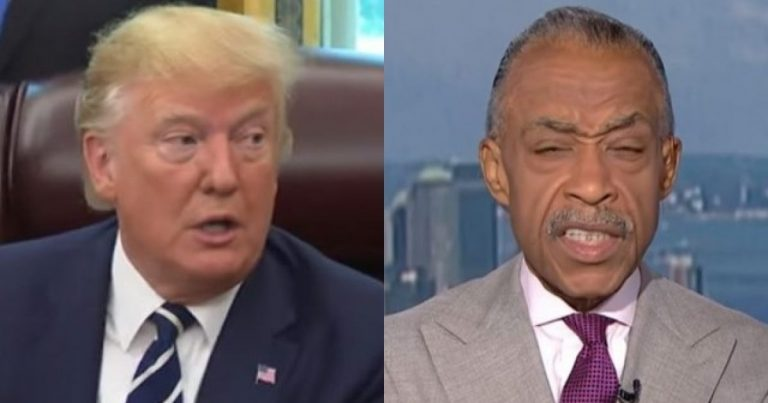 Boom! President Trump Has a Brutal Message for Al Sharpton
