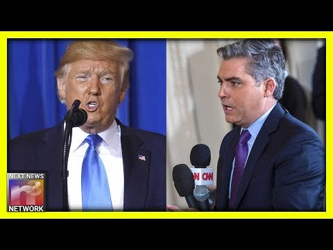 Must See: Trump Humiliates CNN's Acosta In Japan, Audience Erupts In Laughter
