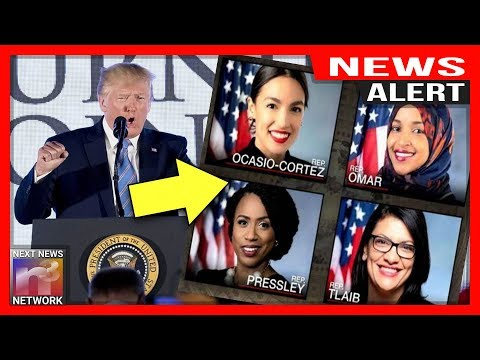 "ALERT: Trump UNLEASHES on ""The Squad"" in front of THOUSANDS – Your move AOC!"