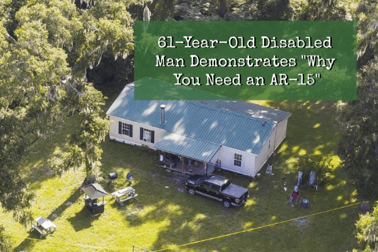 "61-Year-Old Disabled Man Demonstrates EXACTLY ""Why You Need an AR-15"""