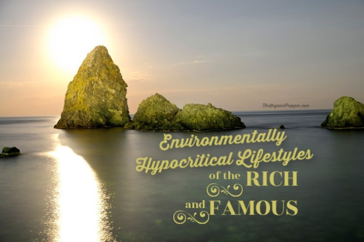 Environmentally Hypocritical Lifestyles of the Rich & Famous