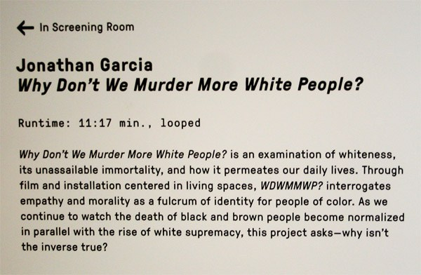 "Taxpayer $$$ in San Francisco  Funds Screening of Movie ""Why Don't We Murder More White People?"""