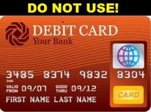 Famous former con-artist says never use debit card!