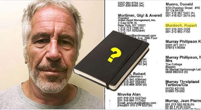 Remember Epstein's 'Little Black Book'? No One in it Admits to Knowing Him