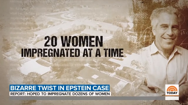 Reports: Jeffrey Epstein Sought to 'Seed' 20 Women At A Time At 'Baby Ranch'; Was An FBI Informant