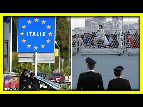 Italy Is DOOMED! One Look At This Boat PACKED Full of Migrants Will Make Italians SICK