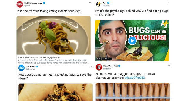Media Preparing The Public For a Future of Eating Bugs