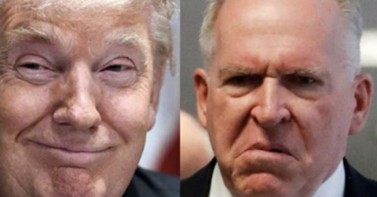 "Brennan Threatens Trump, Barr & Senate Republicans ""… Their Protective Cocoon Is Only Temporary"""