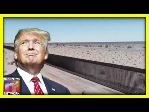 BEHOLD! Trump Unveils His Wall – And it is GLORIOUS!