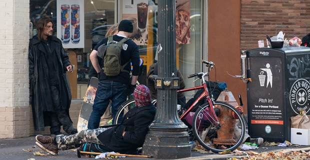 """Portland: """"Cops Say It's Legal"""" For Homeless to Defecate in Public"""