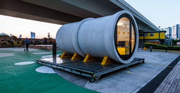 Pod People: Houses Are So Unaffordable, Young People Are Now Living in Sewer Pipes
