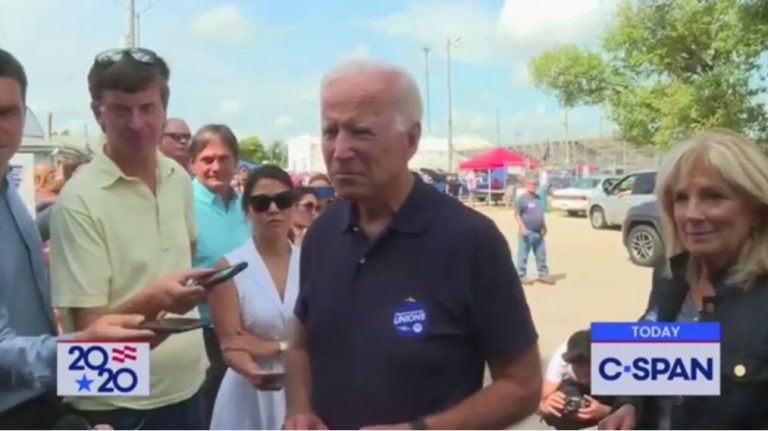 Watch: Democrat Joe Biden mad Trump hasn't banned magazines that 'hold multiple bullets'