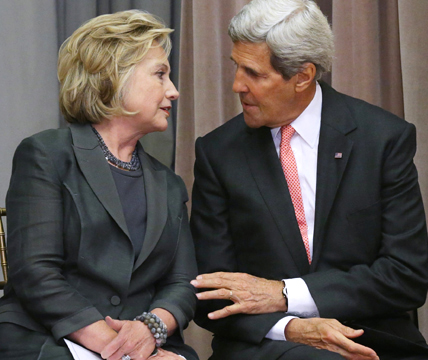 How Hillary Clinton, John Kerry Used Secretary of State Office to Enrich Their Families