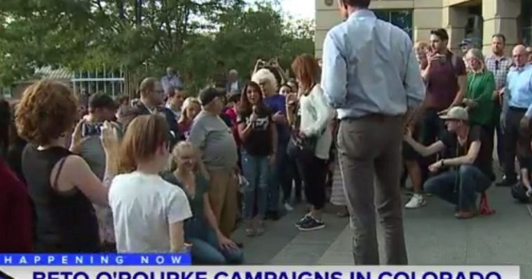 Watch: Armed mother of four to Beto: 'Hell no, you're not' taking my guns'