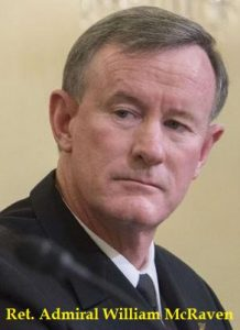 An open letter to (ret.) Adm. William McRaven from former Army intelligence officer
