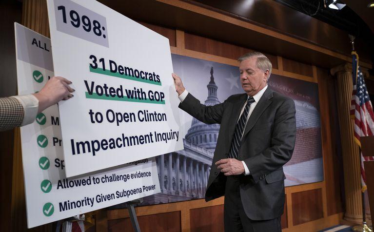 Graham, McConnell Demand House Democrats Conduct Fair Impeachment Probe