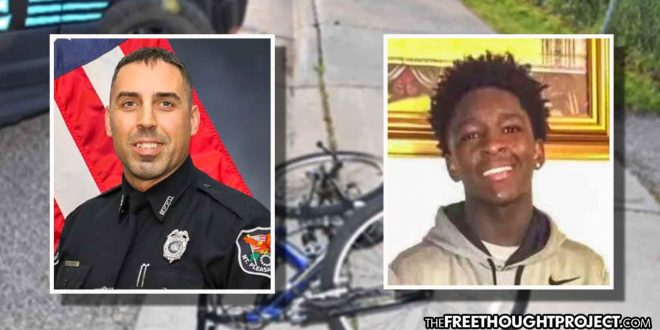 Cop Chases Down Teen, Shoots Him Twice in the Head Over Stop for a Bicycle Light—NO Charges