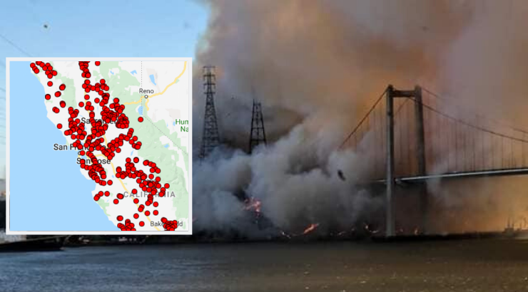 California Utility Giant PG&E Possibly Involved in 400 Fires in 2018, as Execs Got Huge Bonuses