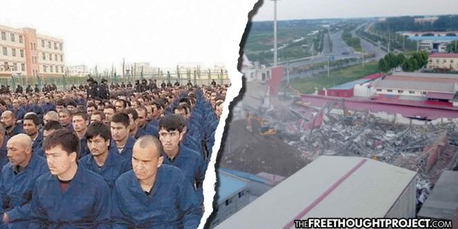 Western Media Silent as China Enslaving Citizens in Concentration Camps, Demolishing Churches