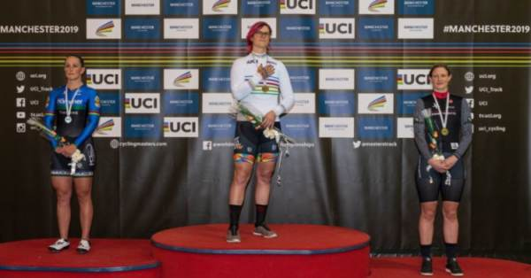Biological MALE Dominates at WOMEN'S Masters World Cycling Chamionships, Breaks World Record