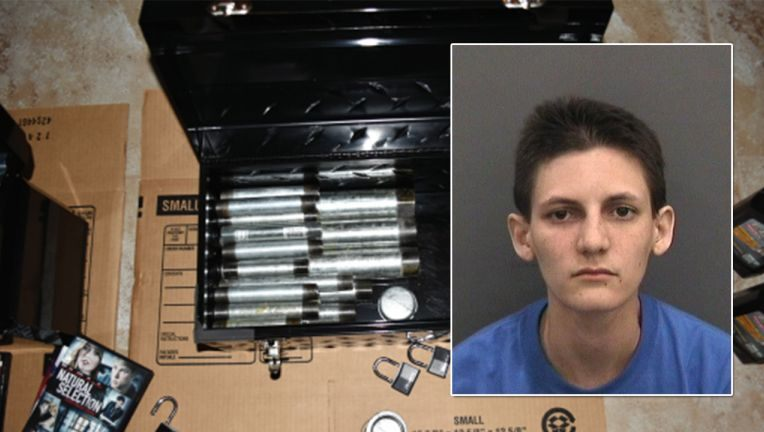Florida: Parents call cops after finding two dozen pipe bombs in daughter's room