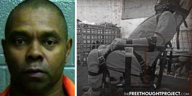Oklahoma: Taxpayers on the Hook for $12.5 Million After Drunk Man Left in a Restraint Chair for Days Until He Died