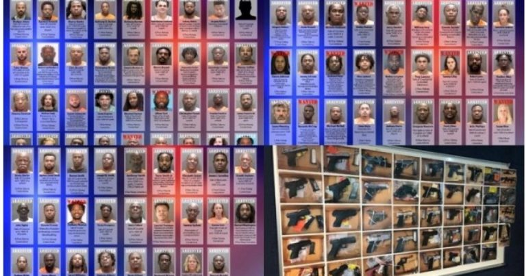Operation SURGE: 95 Arrested in Florida for Guns & Narcotics