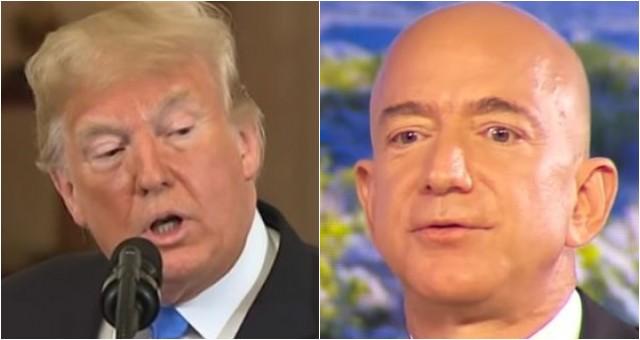 Trump Hands Bezos' Amazon Embarrassing Loss, Gives Microsoft Major DOD Project