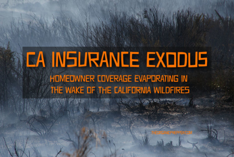 CA Insurance Exodus: Homeowner Coverage Evaporating in the Wake of the California Wildfires
