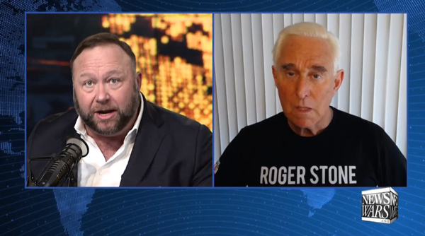 Prosecutor of Roger Stone calls for immediate arrest and indictment of Alex Jones from the floor of the courtroom where Stone was just convicted