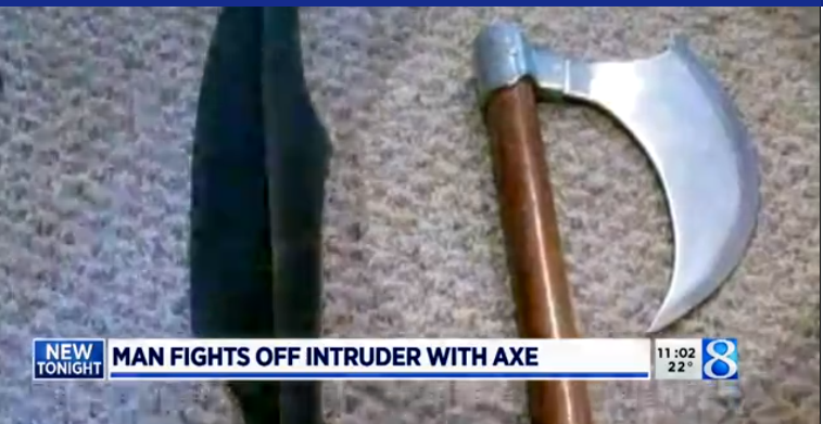 Michigan Homeowner Gets Medieval, Fends Off Home Intruder With Battle Axe