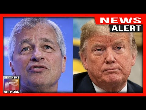 Watch: Chase Bank CEO Jamie Dimon Drops Big Prediction for Trump's 2020 Re-Election Chances