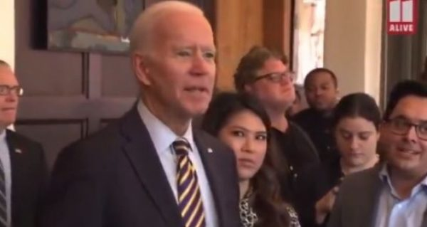 Grandpa Joe Biden Freaks Out on Reporter Who Asked About Hunter's New Baby