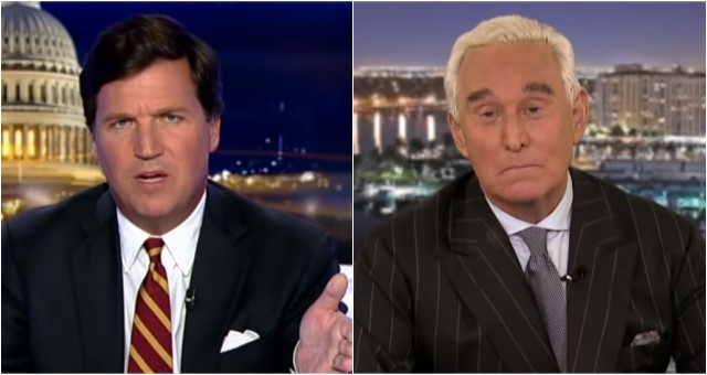 Video: Tucker Carlson Exposes Obama Judge Who Is Totally Screwing Roger Stone