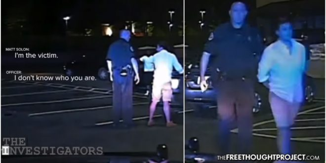WATCH: Hero Veteran Disarms Attempted Murderer, Cops Show Up and Arrest HIM