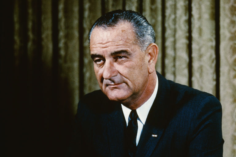 Just released JFK files reveal Democrat President Lyndon Johnson was a member of the KKK, which was run by Democrats