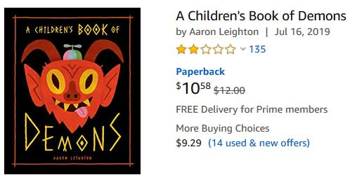 Walmart, Amazon and Target are selling book for children as young as 5 to summon demons
