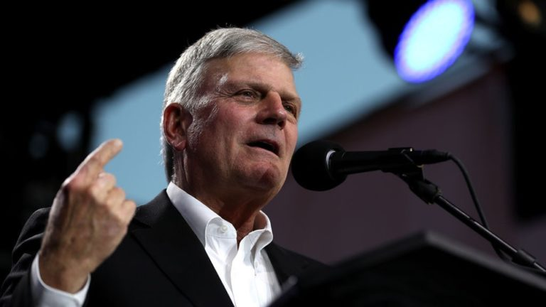 Franklin Graham lashes out at Christianity Today for calling for Trump's removal