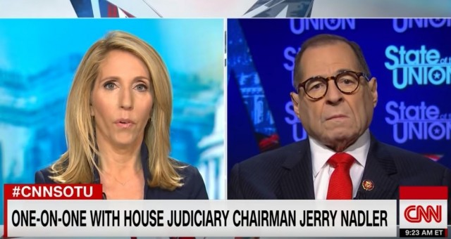CNN Anchor Uses Nadler's Own Words To Catch Him in a Lie, Expose Him as a Hypocrite