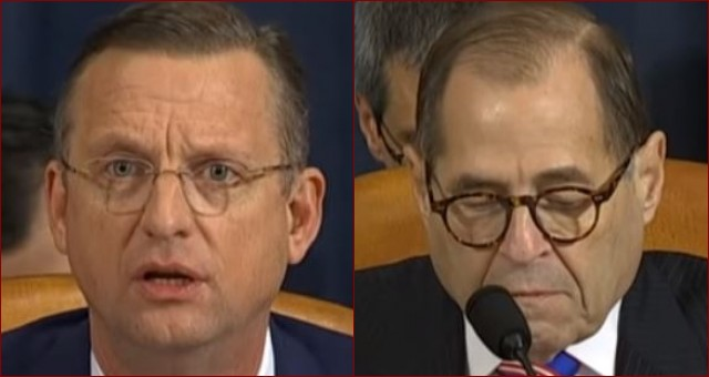 Watch Doug Collins Destroy Nadler at Impeachment Inquiry