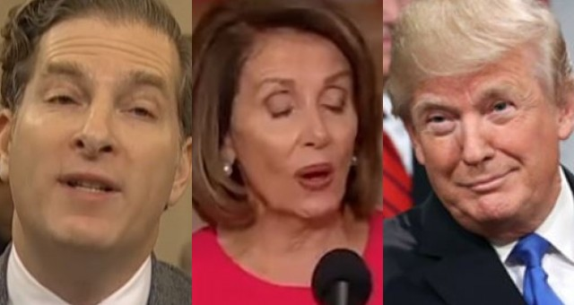 Witness Who Testified for Dems Says Trump Isn't Impeached Until Pelosi Sends Articles To Senate