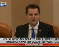 Matt Gaetz Goes There!!! Describes Hunter Biden's Drug Induced Adventures During Impeachment Hearings
