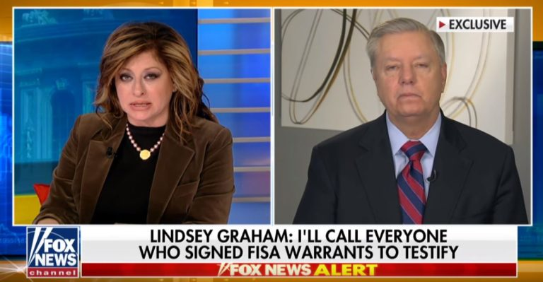 Video– Lindsey Graham Says He'll Call In ALL Persons Who Signed Bogus FISA Warrants In Spygate