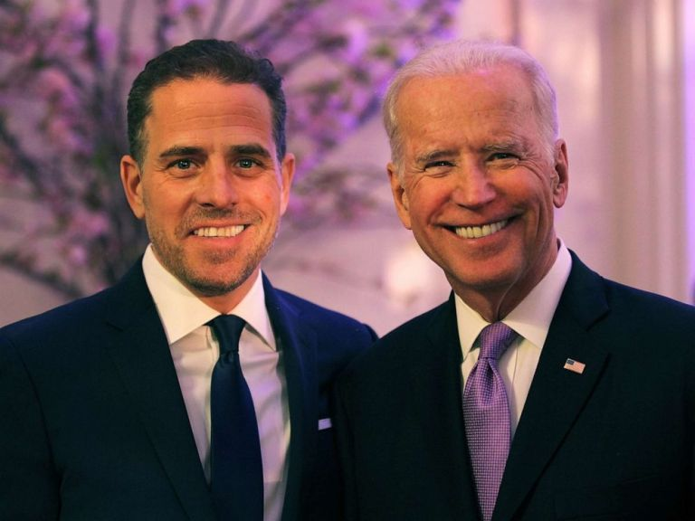 Joe Biden just made a case for arresting and jailing Hunter Biden