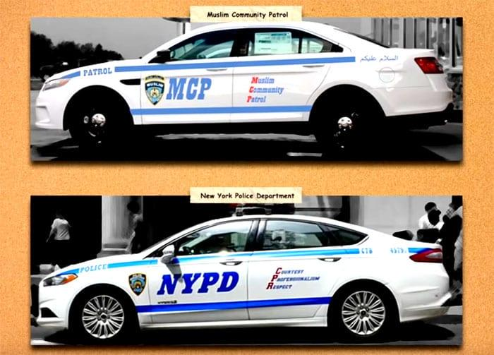NYC's FAKE COPS: Muslim Community Patrol Plans Increase From 3 Patrol Cars to 30. Why?